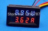 Оптово-DC 0-200V 10A Вольтметр Амперметр шунта Светодиодная панель усилителя Цифровой вольтметр 12v 24v
