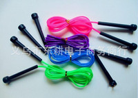 Wholesale High quality Plastic Skipping Rope Jumping Fast Speed Gym Training Sports Exercise M color New
