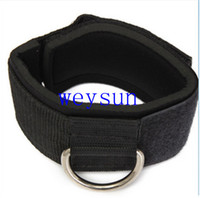 Wholesale Ankle Anchor Strap D ring Multi Gym Cable Attachment Thigh Leg Pulley Strap Lifting Fitness Exercise Training Fitness Equipment