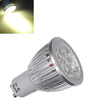 Wholesale Big Promotion GU10 W Led High Power Spotlight Pure White Warm White Spot Lights Lamp Bulbs V