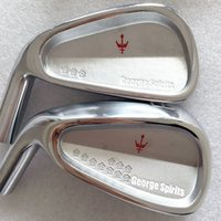 Wholesale Hot sale New mens left handed Golf Heads George spirits Forged Golf irons Heads P Irons clubs heads
