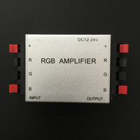 beige rgb - 3pcs Aluminum shell RGB Amplifier DC12 V LED RGB Signal Amplifier controller for LED Light Strip