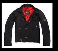 bat motorcycles - 2016 fashion UK union small flag steve mcqueen waxed cotton jacket roadmaster waxed jacket i am legend jacket Motorcycle Jackets