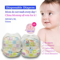 baby labs - Cleaner Health Baby diaper Disposable Diapers LABS Pants Unisex Children underwear Soft Thin Breathable Non woven M L XL Kids Diapering