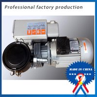air contains - 220v50hz w Single stage rotary vane vacuum pump sucker dry food packaging machine Containing filter