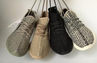 Wholesale New Originals Y Boost Kanye West Running Shoes Men Women Low Cut Y Boost Sneakers Black Moonrocks Y BOOST Footwear