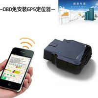 alarm installation trackers - GPS High quality OBD Real Time Quad Band Anti theft Vibration Alarm Car Tracker Tracking Remote diagnosis free installation