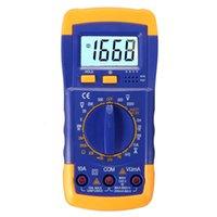 ac ammeter circuit - Digital LCD Multimeter Voltmeter Ammeter OHM AC DC Circuit Volt Tester New Arrival