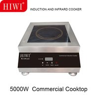 Wholesale HIWI W coomercial induction cooker countertop flat galss