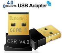 Wholesale Mini USB Bluetooth Adapter V Dual Mode Wireless Dongle CSR USB For Windows Win Vista XP Black