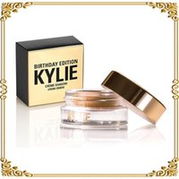 Wholesale 2016 Kylie Jenner Birthday Editon Kylie Cosmetics Creme Shadow Copper Rose Gold Creme OMBRE perfect kylie eye