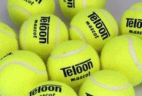 Wholesale set Teloon mascot Tennis Trainer Train Training Durable Tennis Ball Balls for training beginner