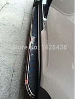 Wholesale HYUDNAI Santa Fe ix45 Step Bar Running Side Board silver High quality