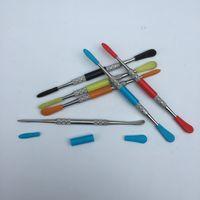 add c - 2015 Add Plastic tube Titanium Tool GR2 Titanium Dabber Wax Atomizer Stainless Steel Dab Tool c e Nail Dabber Tool dry herb Vaporizer