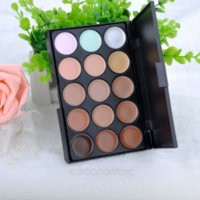 Wholesale Top Quality Pro Colour Sheer Concealer Camouflage Palette Face Cream makeup Eyeshadow Bronzer kit set tools LX MPJ034