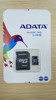 Wholesale New arrived Memory Card GB GB GB GB ADATA Micro SD Card MicroSD TF C10 Flash SDHC SD Adapter SDXC Retail Package