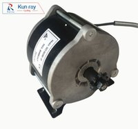 Wholesale DHL FREE MY1018E D UNITEMOTOR W V Electric Bicycle Brushed Motor Ebike Gear DC Motor E Scooter Motor Ebike Parts