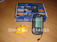 Wholesale Onta fishing kit pc fishing alarm peche Portable wireless sonar Fish Finder TL66 for effective fishing depth sounder