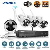 Wholesale Annke P HD Wireless Outdoor Network IP Security Camera CH P HD WIFI NVR Wireless CCTV Surveillance Systems