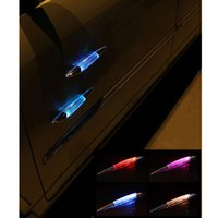 automotive emergency lights - 2016 New Arrival Automotive Shark Gills Lights Solar Lights Emergency Anti Rear Warning Lights Car Decorative Strobe Lights