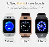 Wholesale Buyviko DZ09s Smart Watch GT08 U8 A1 Wrisbrand Android iPhone iwatch Smart SIM Intelligent mobile phone watch can record the sleep state