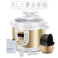 Wholesale Intelligent electric pressure cooker rice cooker electric pressure cooking saucepan L High Capacity