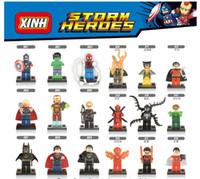 Wholesale Super Hero Figures Toys styles The Avengers Toys Hobbies Classic Toys Action Figures DIY Building Blocks Bricks Minifigures with opp bag