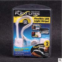 Wholesale Creative Flexi Lites Touch Light Band Super Bright LED Wardrobe Light DIY Decoration Wall Lamps Flexible LED Light Strip LJJC5036