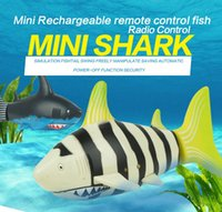Wholesale Coke Can RC Shark Fish Toy Kids Baby Children s Toys Kids Remote Control Super Mini Speed Ship High Performance Boat Gift