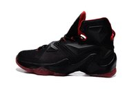 Wholesale 2016 Hot Sale Lebron Basketball Shoes Sneakers Sports Sale Mens Man Lebrons XIII LB s Elite Premium Original Basket Shoe