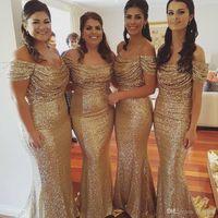 Wholesale Mermaid Prom Dresses Floor Length Cap Sleeve Evening Dresses Special Occasion Vestidos de Noviva Festa