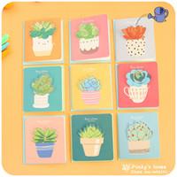Wholesale pc Little Korea Creative Birthday Greeting Card Cute Little Mini New Year Cards Cute Postcards