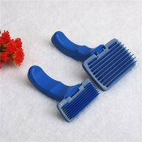 Wholesale Fashion Puppy Cat Hair Grooming Slicker Comb Gilling Brush Quick Clean Tool Pet