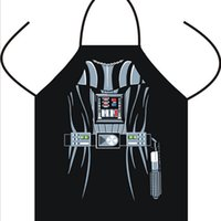 Wholesale Sexy Novelty Funny Aprons Star Wars Boba fett Wonder women Anime Cartoon Character Series Kitchen Personality Cooking Aprons Mermaid TT