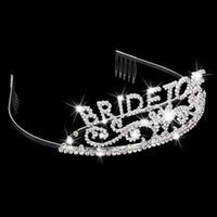 bachelorette gifts - Bachelorette Tiara Hen Party Crown Bride to Be Bridal Shower Supply ee