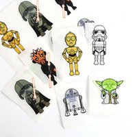 Wholesale 2016 NEW Star Wars Sticker D Cartoon party Decorative book Stickers paper game Children gift toys