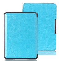 Wholesale Crazy Horse PU Leather Cover Case Universal for Amazon Kindle Paperwhite Version