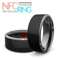 apple improvements - 100 Original high quality NFC Magic Ring Health Improvement Ceramic Smart Ring waterproof for Android Apple IOS Smartphone Wearable Smart E