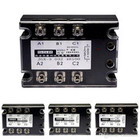 Electromatic triphasé AC-Solid State Relay instantané 480V / 40A GJX-3 B00361 BARD