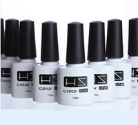 basic polish - UV GEL nail poish easy sock off basic coat top coat color coat Manicure gradual change nail polish