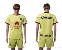 Wholesale Club de Futbol América soccer jersey football uniform men kit man jerseys uniforms set with shorts sets top quality custom name number