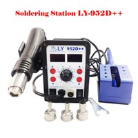 big power station - New version LY D dual led in solder station auto sleep function big power smart V V W