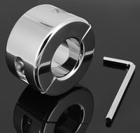 Cheap 980 g heavy type Stainless steel cock ring with Delayed Ejaculation BDSM toy glans ring for men stay hard