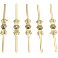 Wholesale 100pcs Silver Gold Copper mm Silver Gold Bowtie Pins Connectors For Crystal Chandelier Lamp Part