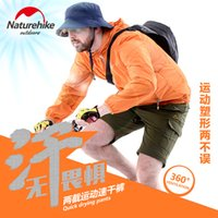 Wholesale Naturehike Men s Walking shorts Camping Trousers Summer Hiking Pants Fast Drying Detachable Bottoms NH02Y016 KM