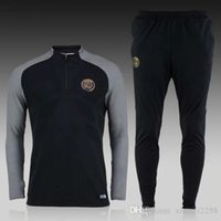 Wholesale Best quality Paris training suit Ligue Football Sportswear Set skinny pants