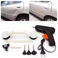 auto paint kits - Car Pops A Dent Ding Repair Removal Tool Set Kit for Vehicle Auto Automobile ABS Glue Gun DIY Paint Car Care Tools
