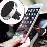 Wholesale Cool Style Car Magnetic Air Vent Mount Holder Stand For Mobile Cell Phone GPS UF