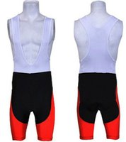 Wholesale high quality red color ropa ciclismo sports man cycling bib shorts only cycling wear bike clothing cycling pants