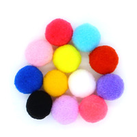 Wholesale 120pcs Mixed Color mm Replace Cotton Balls Pompon For Cage Box Locket Fragrance Aromatherapy Essential Oil Diffuser Making